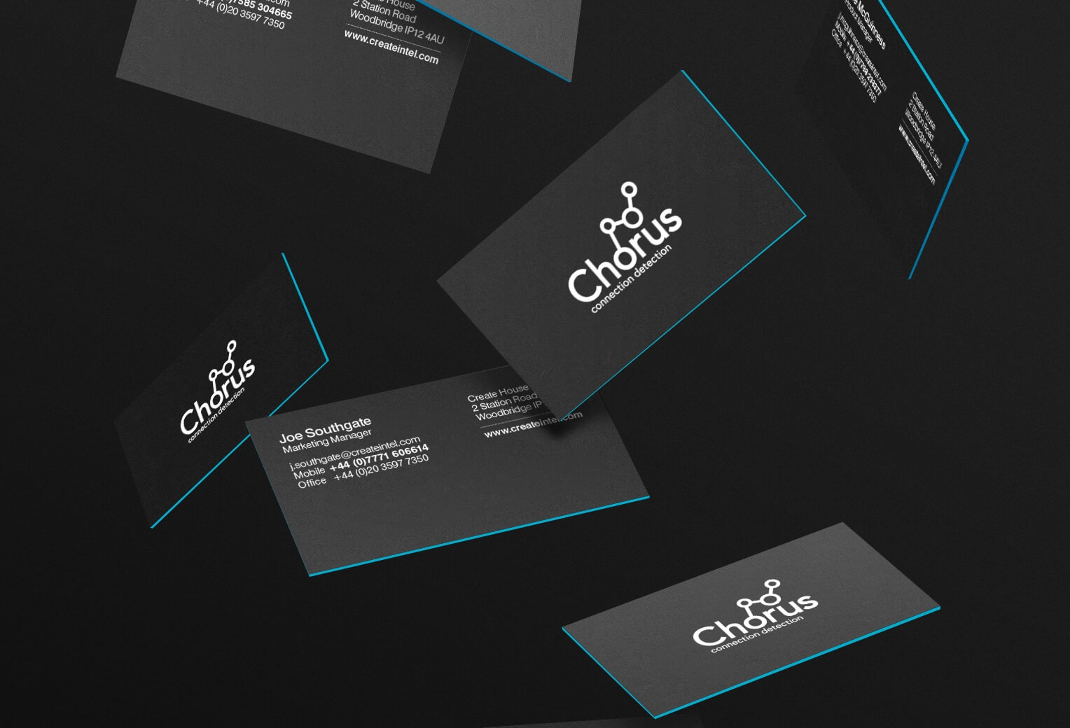 chorus-business-cards